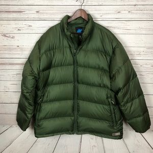 Eastern Mountain Sports Quilted Down Puffer Jacket
